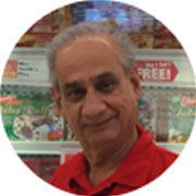 Shaukat T., Grocery Sales Associate, Columbia, MD